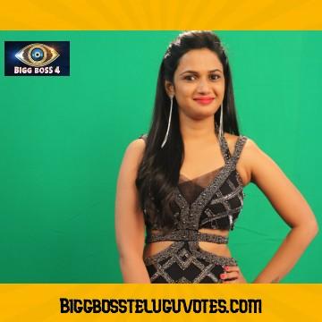 Bigg Boss Telugu Vote Result for Ariyana Glory